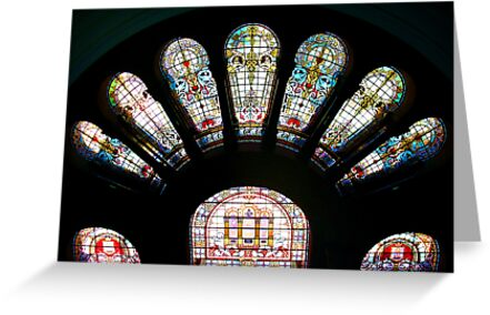 Stained Glass Arch by Michael John