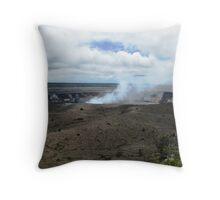Hawaii, Kona, Mauna Loa Volcano Throw Pillow