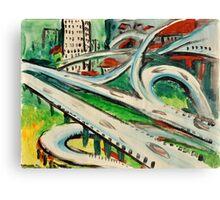 Urban Sketch  Canvas Print
