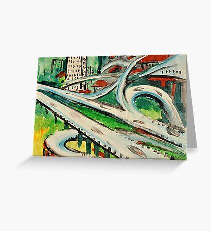 Urban Sketch  Greeting Card