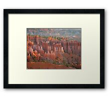 Bryce Canyon look Framed Print
