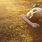 365 - sunny self-portrait in the grass by emmacolleen