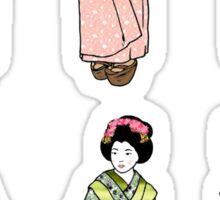 Geisha Girls Sticker
