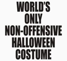 World's only non-offensive Halloween costume One Piece - Long Sleeve
