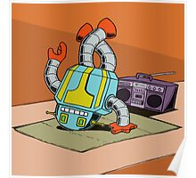 BreakBot the Breakdancing Robot Poster