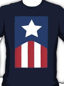 Captain America Flag T-Shirt