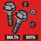 BOLTS nuts  by KISSmyBLAKarts