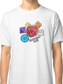 Polyhedral Pals - How I Roll - D20 Gaming Dice Classic T-Shirt