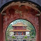 Doorway to the past - Hue, Viet Nam. by Jordan Miscamble