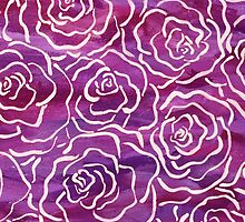Abstract Roses- Pink by jacsilepi