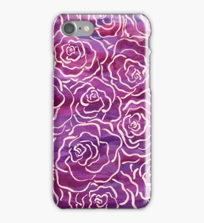 Abstract Roses- Pink iPhone Case/Skin