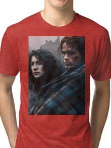 I Come To A Castle Tri-blend T-Shirt