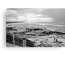 Surfing at Middleton Canvas Print