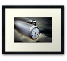 As time flys By Framed Print