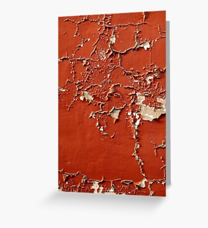 Orange Peel Greeting Card