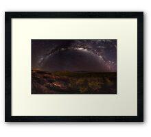 Nourlangie Milkyway Framed Print