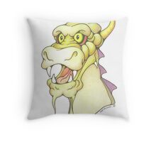Dexter Dragon Throw Pillow