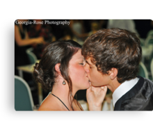 Tayla and Justin Canvas Print