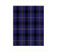 00751 Bank of Scotland Tartan (1995) Art Print