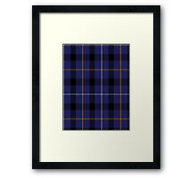 00751 Bank of Scotland Tartan (1995) Framed Print