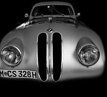 Silver Classic BMW by herbpayne