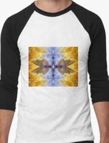 Take Wing (Amethyst and Citrine) Men's Baseball ¾ T-Shirt