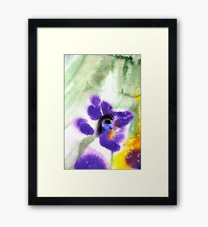Violet Beauty Framed Print