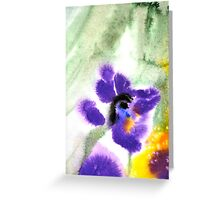 Violet Beauty Greeting Card