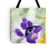 Violet Beauty Tote Bag