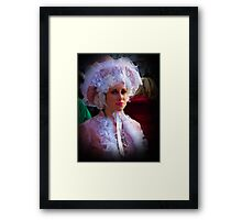 Innocent Lady  Framed Print