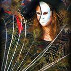 Feather Girl  by Sunil Bhardwaj