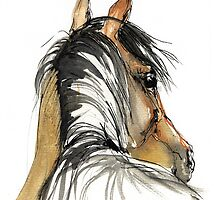 horse sketch by tarantella