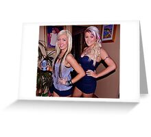 Girls night out. Greeting Card