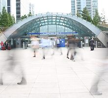 Canary Wharf Slow Motion by Matt Powell