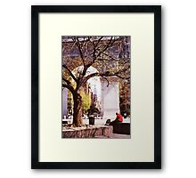 Spring In Washington Square, New York, NY Framed Print