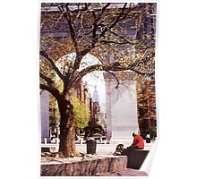 Spring In Washington Square, New York, NY Poster