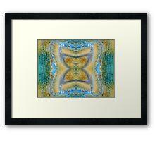 Hourglass (Ash Flow Jasper) Framed Print