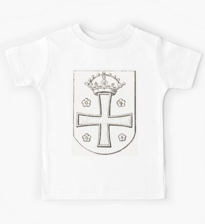 Anders Thiset Hearldry Smørum Herreds våben 1648 Kids Tee
