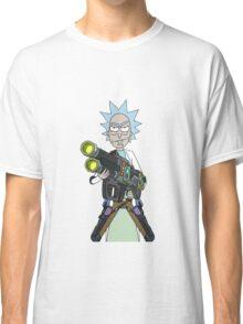 Badass rick Classic T-Shirt