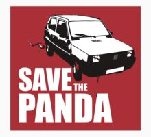 Save The Panda Sticker by godgeeki