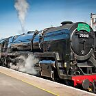 The Cathedrals Express: Steam Train. by DonDavisUK