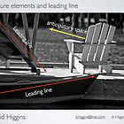 Picture element leading line by Dave  Higgins