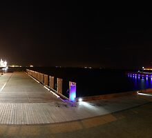 Geelong Waterfront Panorama by Peter Redmond