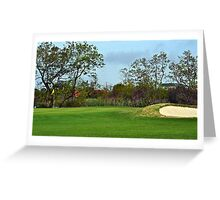 Signal Hill Golf Course Greeting Card