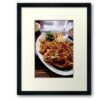 Indonesian Food Framed Print