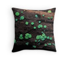 Cool green jelly cups Throw Pillow