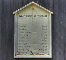The Scottish Weather Forecast by Jamie  Green