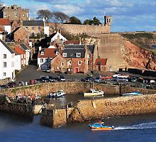 Crail Harbour by GillBell