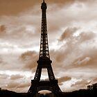 Eiffel Tower - Antique by danielmarcus