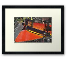 Euston Road - The Glass Factory Framed Print
